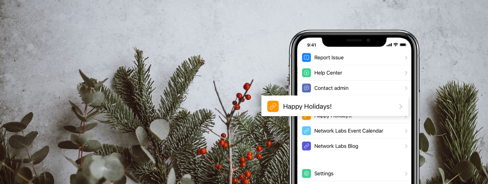 Make the holidays extra special for your coworking members - Web Extensions