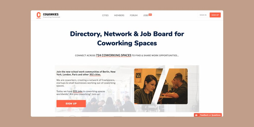 Post jobs for roles in your coworking space