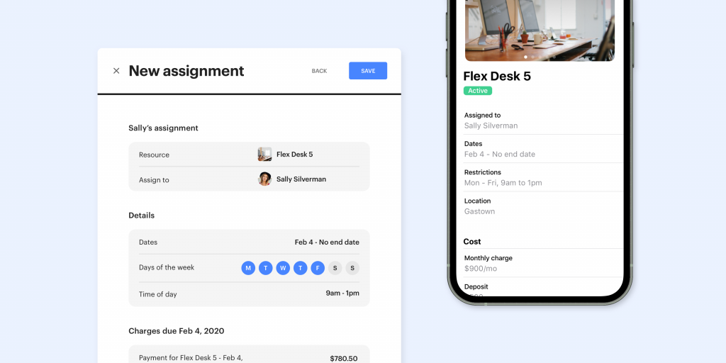 Create assignments to provide exclusive use of a Resource to a user or team